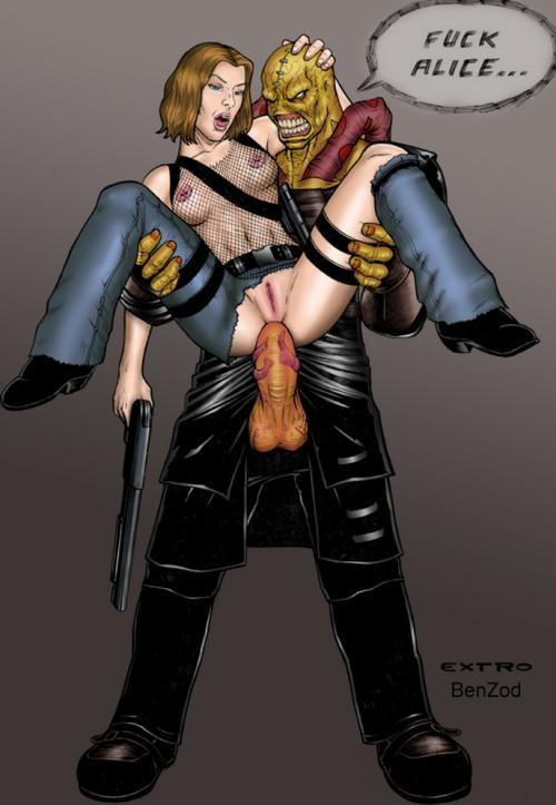 Jill Valentine Resident Evil Nude
